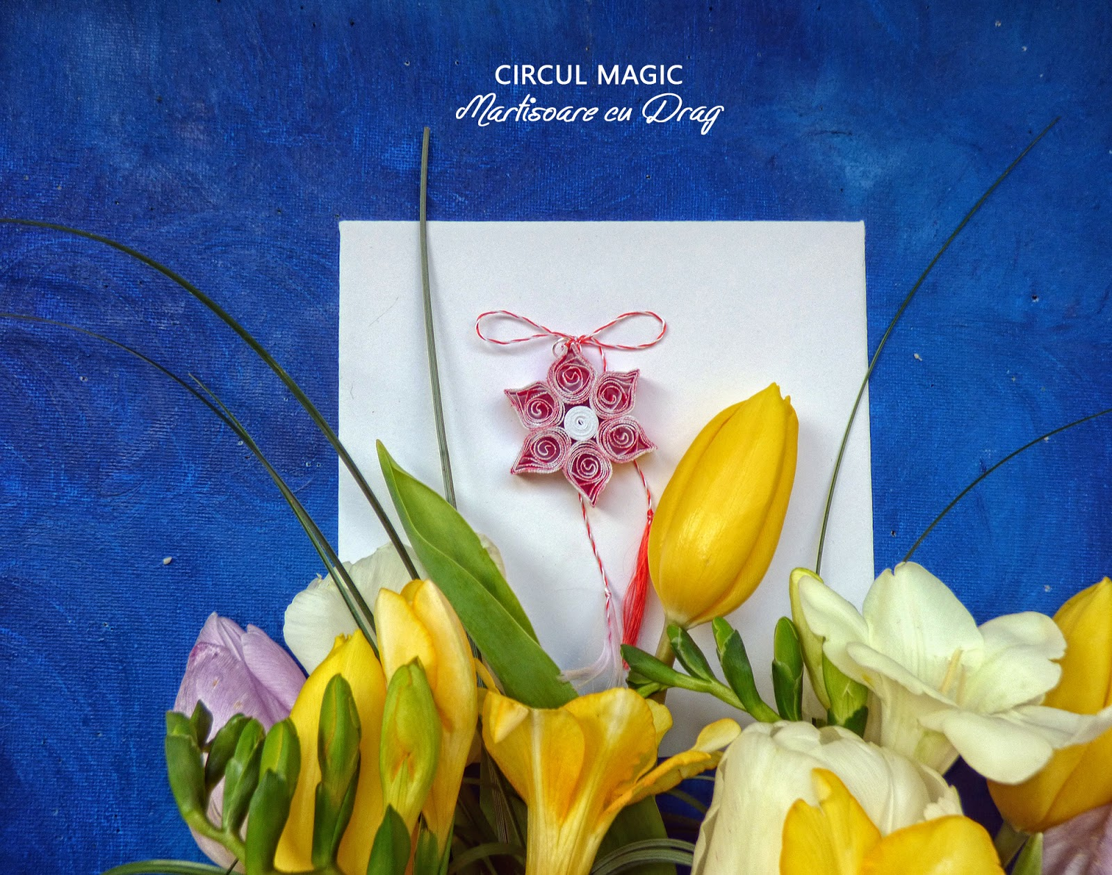 Martisoare Quilling 2017 Acadele Floare Hartie Circul Magic