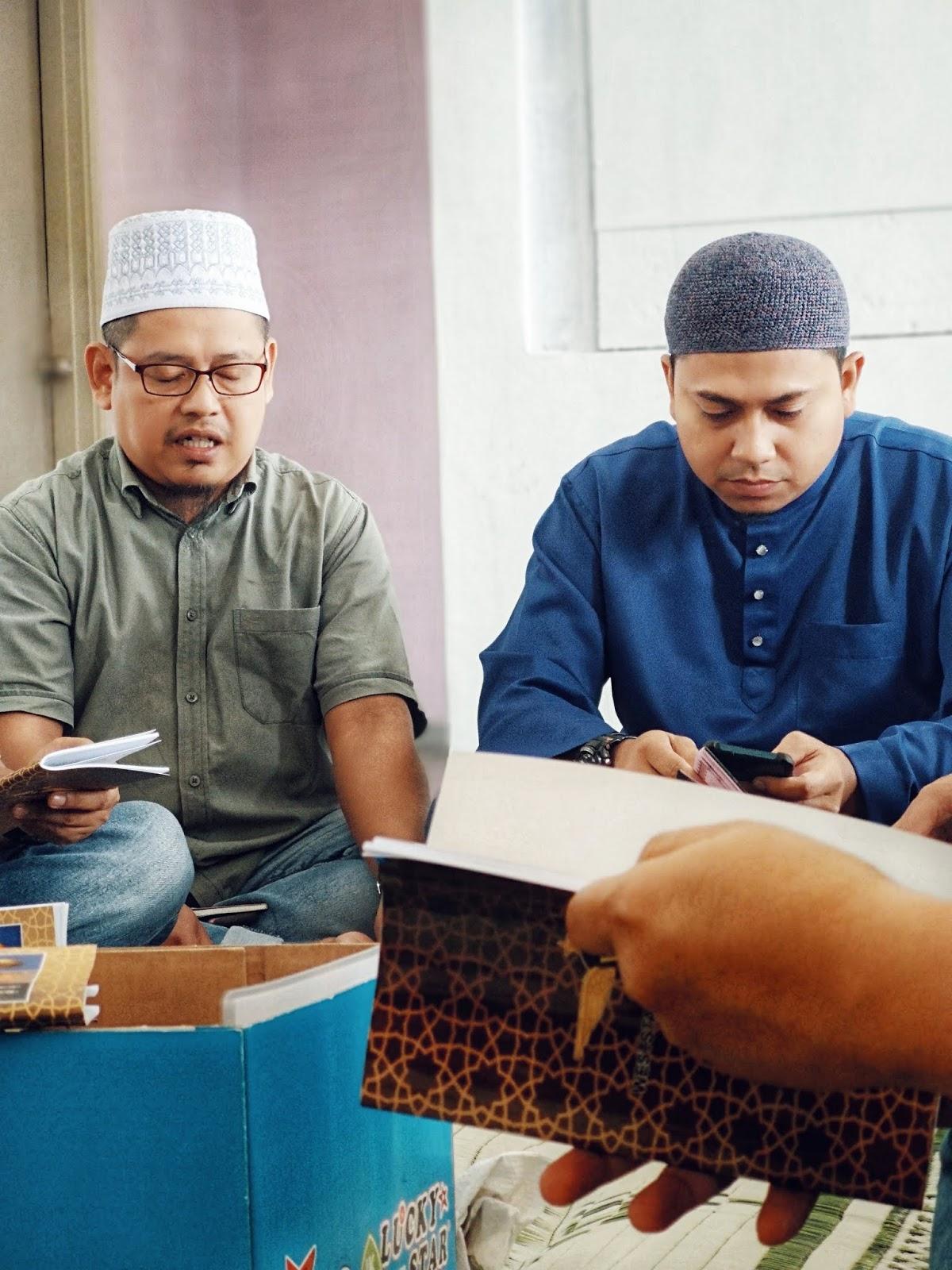 Majlis Bacaan Yasin & Tahlil KMKN 95/96 - Salman dan Riza
