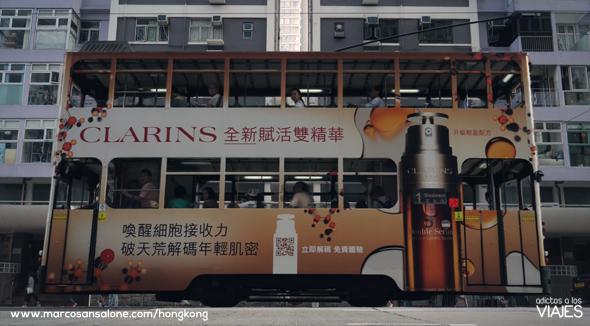 Tranvía de Hong Kong