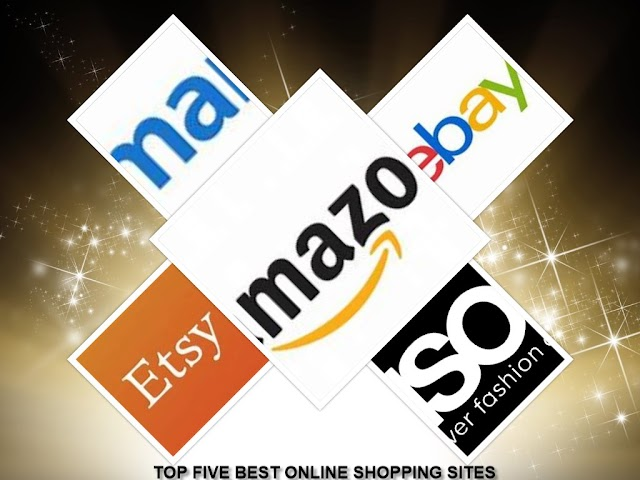 TOP FIVE BEST ONLINE SHOPPING WEBSITES IN THE WORLD
