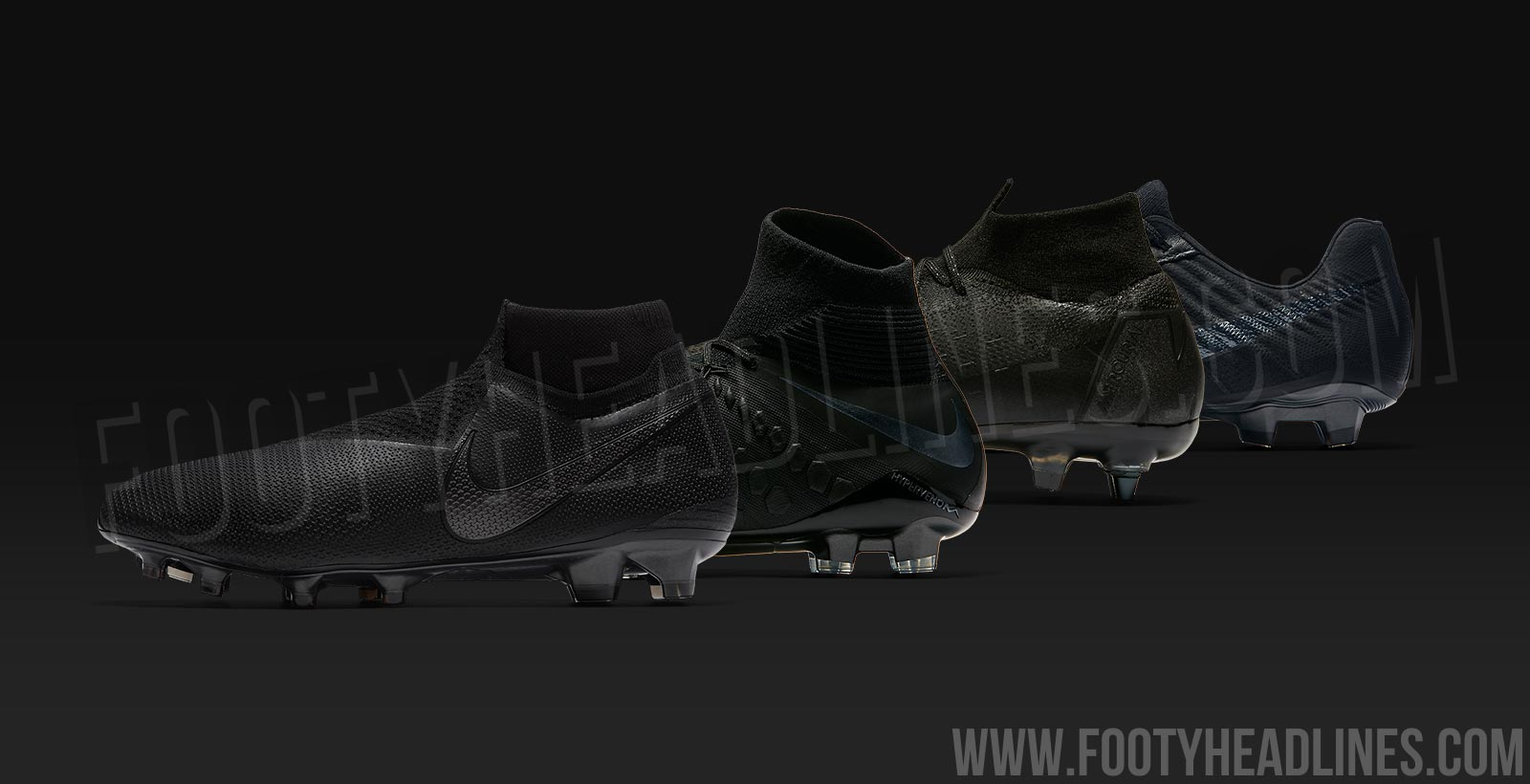 efd112811 Blackout  Nike  Stealth Ops  Pack Boots Revealed