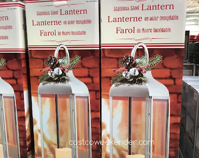 Light the night with the Stainless Steel Lantern