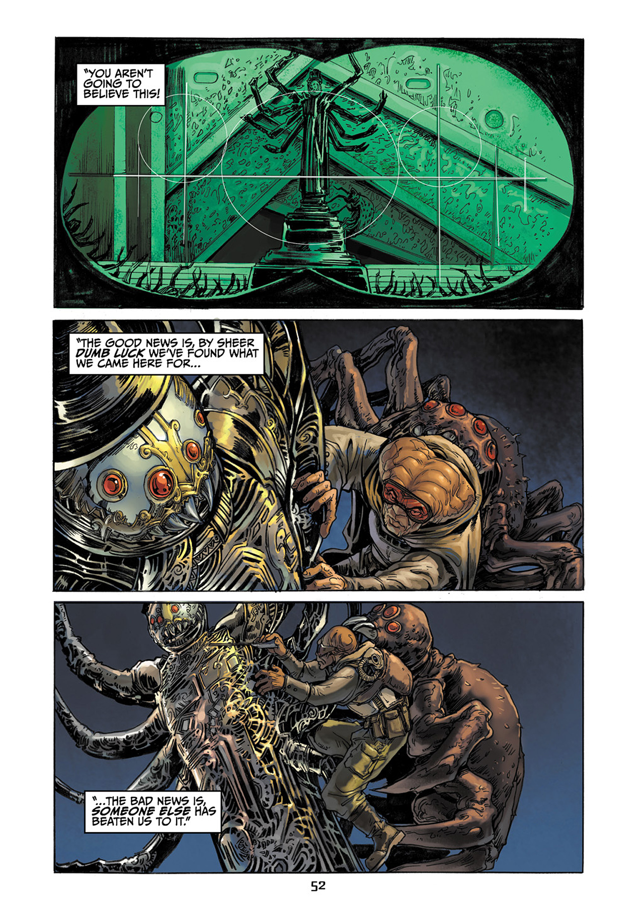 Read online Star Wars Adventures comic -  Issue # Issue Boba Fett and the Ship of Fear - 53