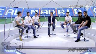 La Tertulia de RMTV con Dani Carvajal, Jesé Rodríguez, Kiko Casilla, Rubén Yáñez, Nacho Fernández y Lucas Vázquez