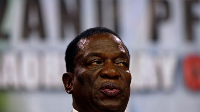 Zimbabwe's Mnangagwa seeks end to Western sanctions