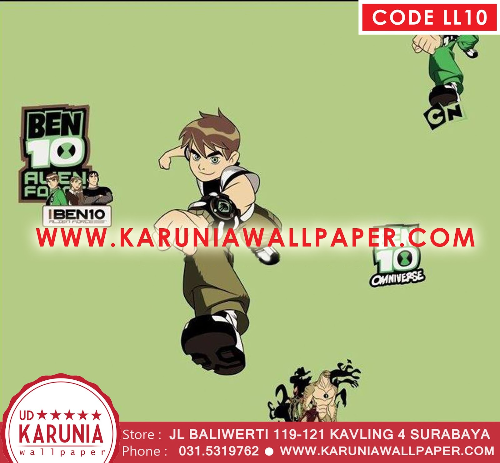 jual wallpaper cartoon networks