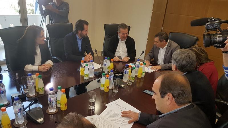 Συνάντηση του Υφυπουργού Κοινωνικής Ασφάλισης με θεσμικούς και επαγγελματικούς φορείς του Έβρου