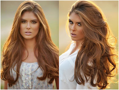 Hair Color Golden Light Brown - List of Blond and Brown Hair Color for All Skin Types