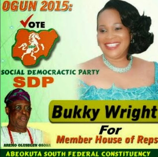 bukky wright politics