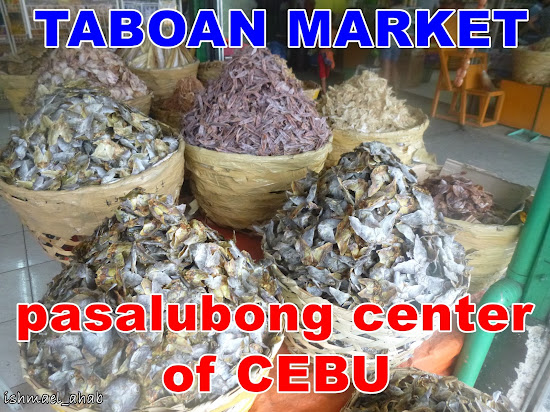 Taboan Market Pasalubong Center of Cebu