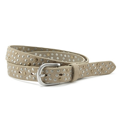 The White Company Suede Studded Belt
