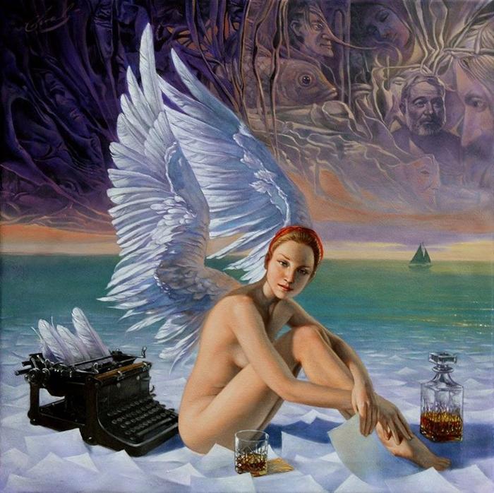 Michael-Cheval ~ pintor surrealista