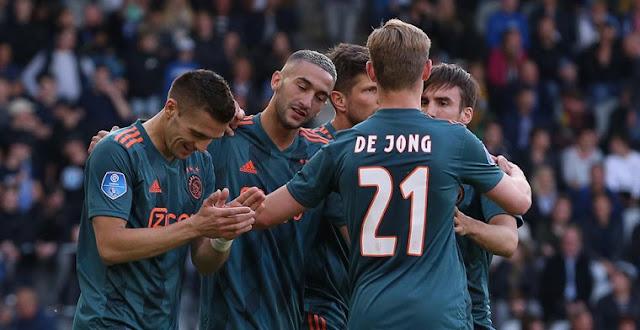 Năm mới đây Ajax sở hữu nhiều cầu thủ chất lượng.