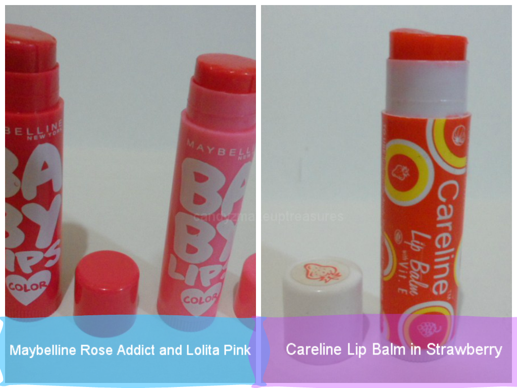 Candyz Makeup Treasures Review Of My Favorite Lip Balms