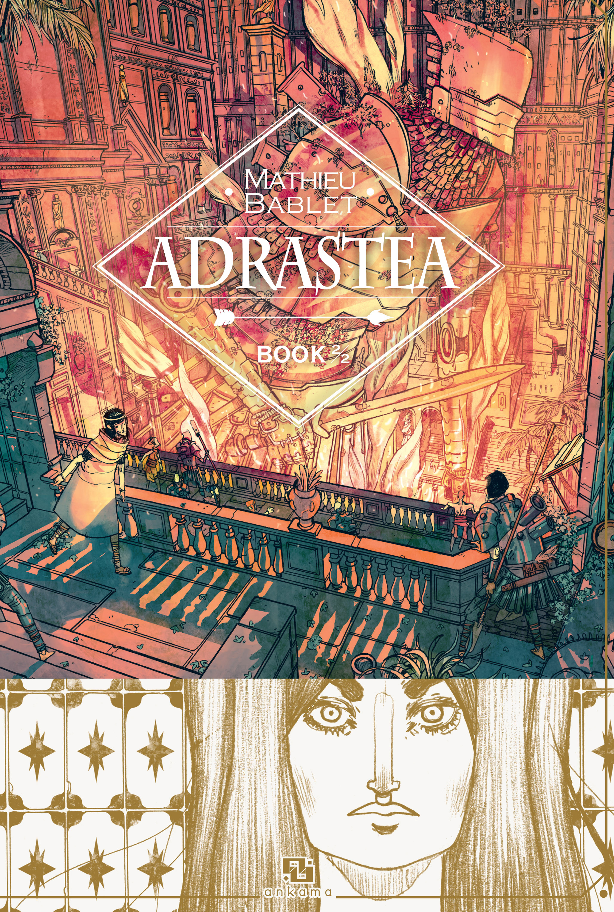 Read online Adrastée comic -  Issue #2 - 1