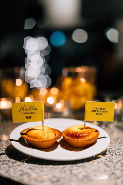 BAKE Cheese Tart Singapore Review