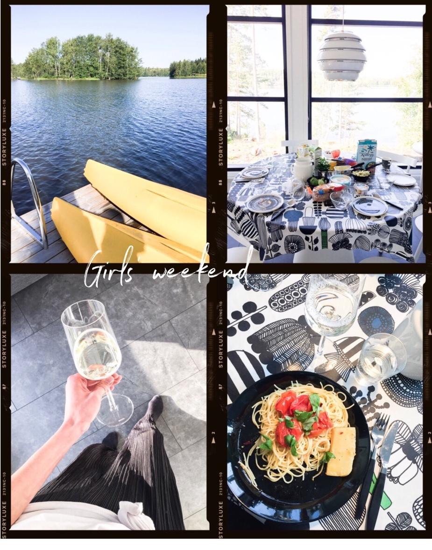 summer-cottage-weekend-finland-lakesade-vegan-pasta-mökkiviikonloppu-suomi-järvi-uunifetapasta-vegaani