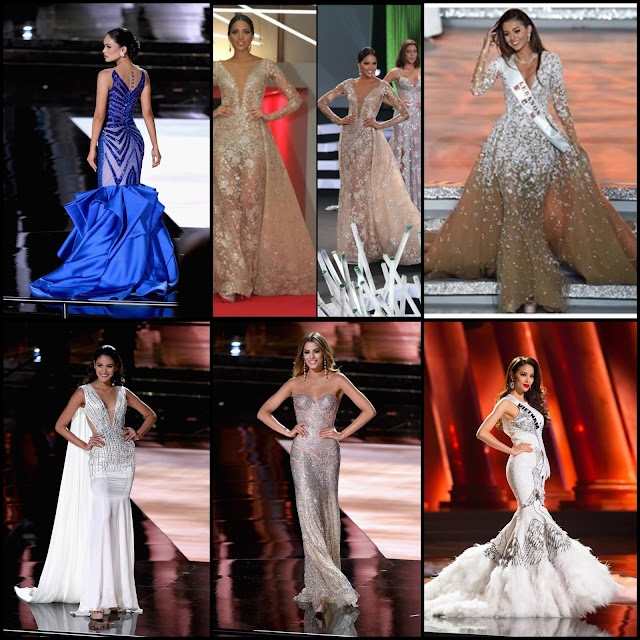 SASHES AND TIARAS....Best of 2015 List: Best Beauty Pageant Gowns of 2015! **UPDATE: Just added Miss Universe 2014-2015 Gowns!