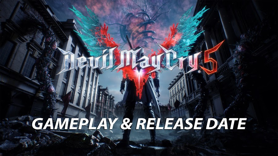 devil may cry 5 gameplay video gamescom 2018