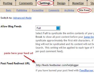 Post Feed Redirect URL