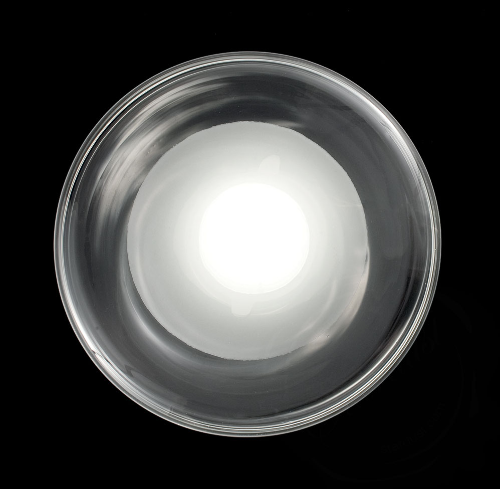 Modern Large Round 2ft Murano Glass Ceiling Wall Lamp