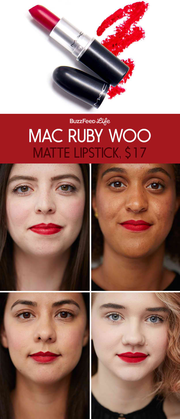 MAC RUBY WOO (Review, Photos, Swatch) | Best Red Lipstick ...