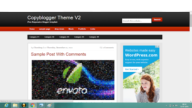copyblogger template