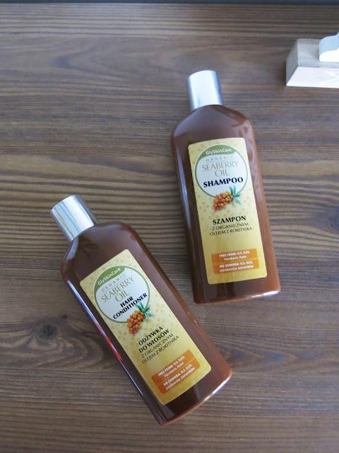 Szampon oraz odżywka do włosów z olejem rokitnika | Organic Seaberry oil | GlySkinCare