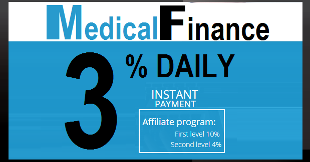 Bitcoin FORUM: MedicalFinance investment REVIEW