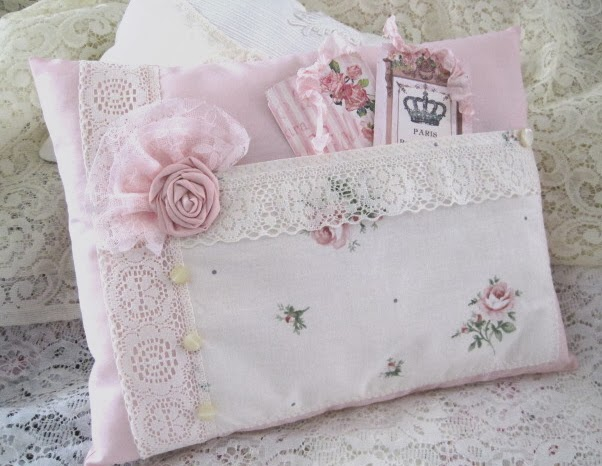 The Porcelain Rose: Sew Shabby Chic!