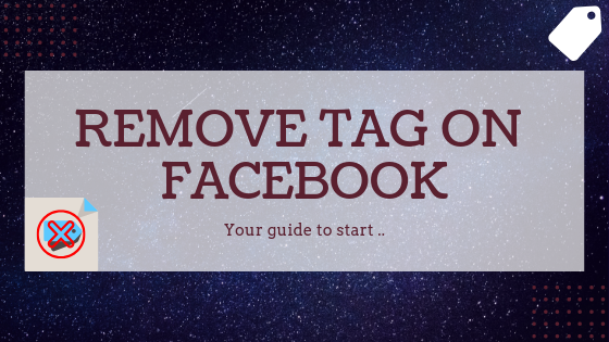 Remove Facebook Tag<br/>