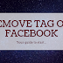 Removing Tags On Facebook