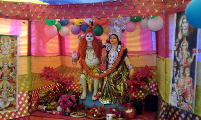 Shivaratri puja in Labdah Shanti dhura Mungpoo