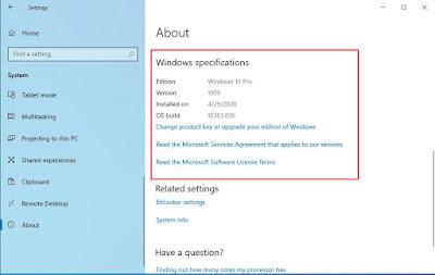 cara cek bit windows 10