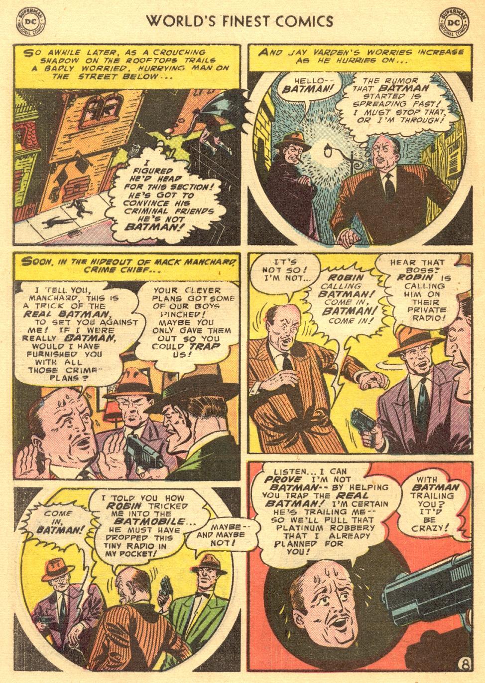 Read online World's Finest Comics comic -  Issue #70 - 62