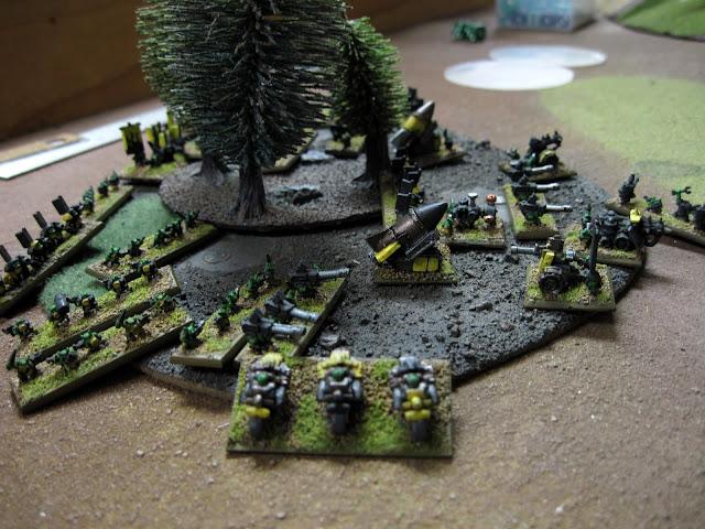 Chroma's Orcs make ready.