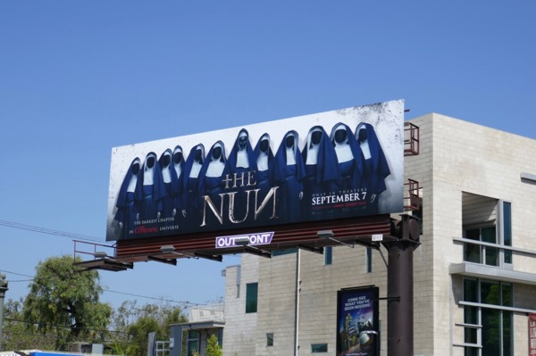 Nun film billboard
