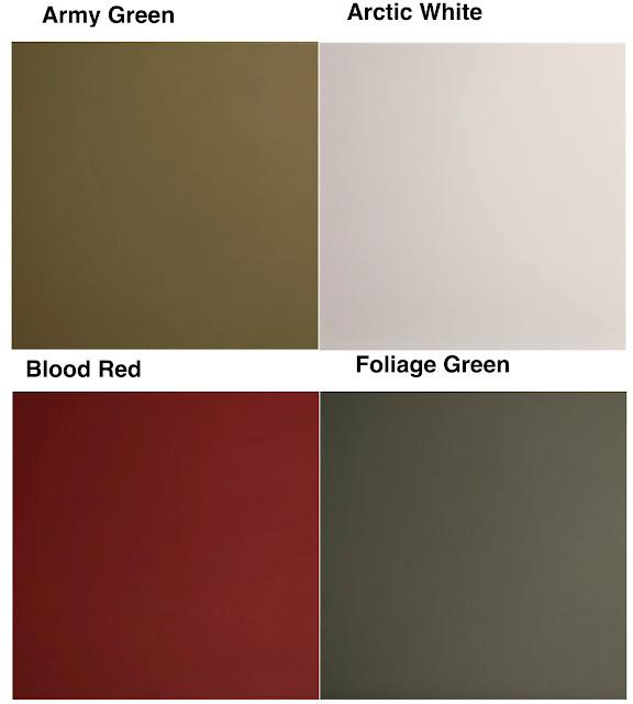 kydex custom colors