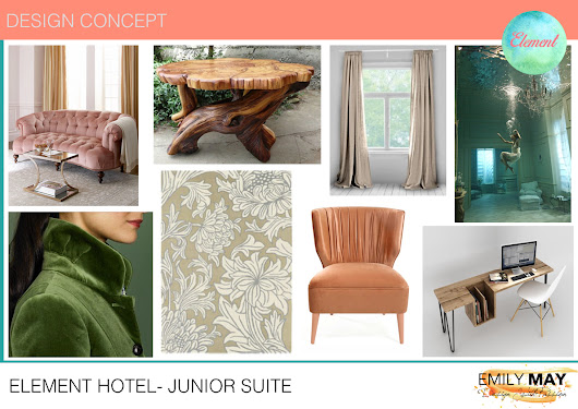 Hotel Project: Junior Suite Design - Emily May