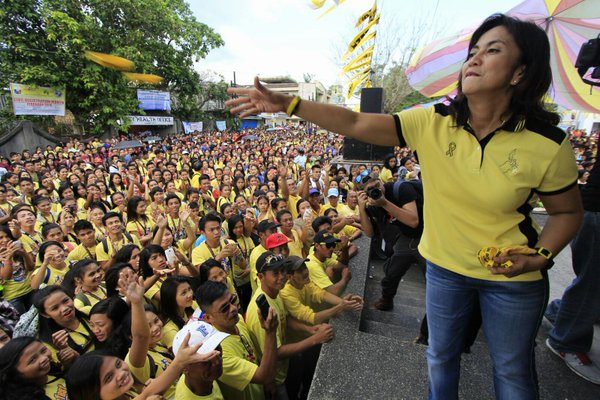 Greco Belgica: Leni to start a rally, will use DAP funds for own cause