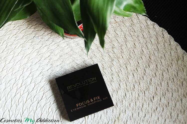 MAKEUP REVOLUTION | Paletka do brwi MEDIUM DARK