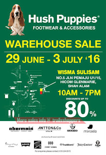 Hush Puppies Footwear & Accessories Warehouse Sale