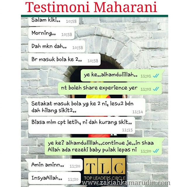 Testimoni Herba Maharani
