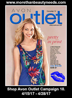 Click on Avon Outlet Campaign 10. 4/1/17 - 4/14/17 to Shop Outlet >>>