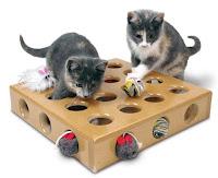 Juegos para gatos DIY