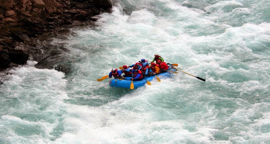 kashmir rafting pahalgam adventure sports lidder river