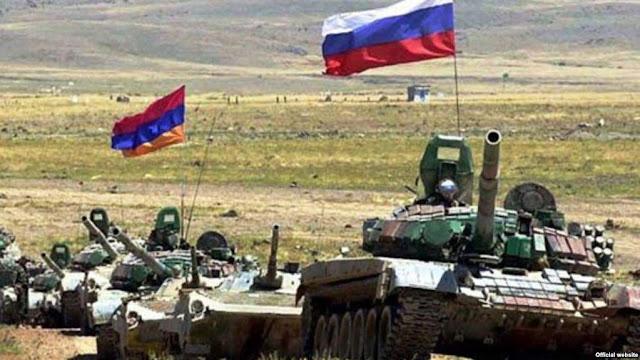 Armenia y Rusia realizarán ejercicios militares conjuntos en Bagramyan