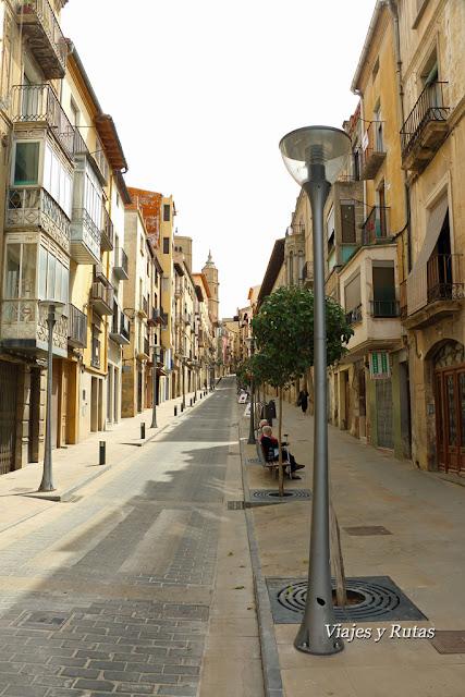 Calle Mayor de Alcañiz, Teruel