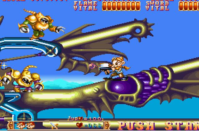 Three Wonders Stage 2 Main Boss Screenshot