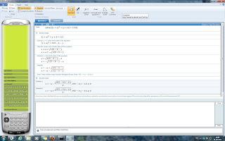 Solve Maths with Microsoft Mathematics